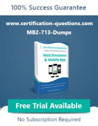 MB2-713 dumps